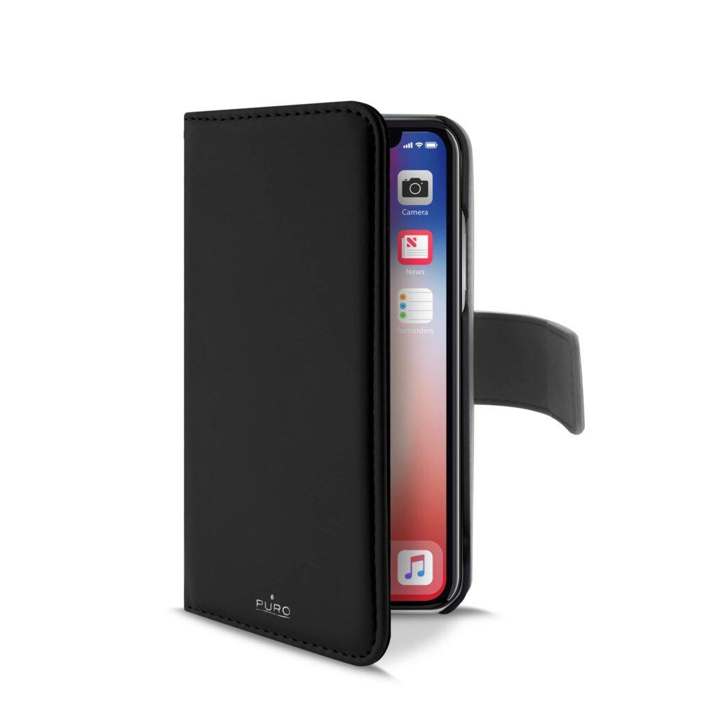 Custodia Wallet Detachable per iPHone X