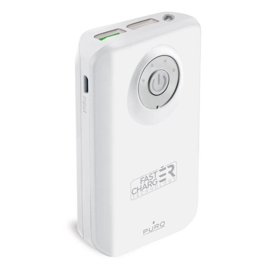 Powerbank: batteria esterna fast charge con due porta USB-A