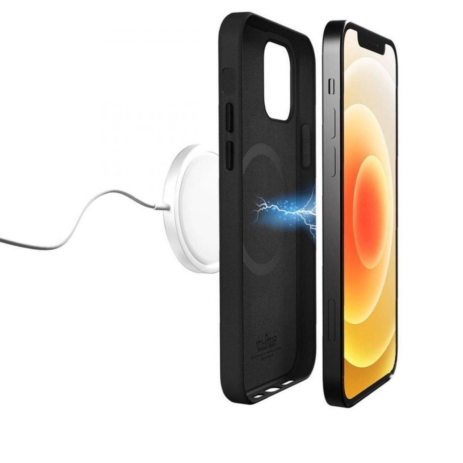 Cover e custodie effetto pelle per iPhone 12 e iPhone 12 Pro e compatibile con Mag Safe
