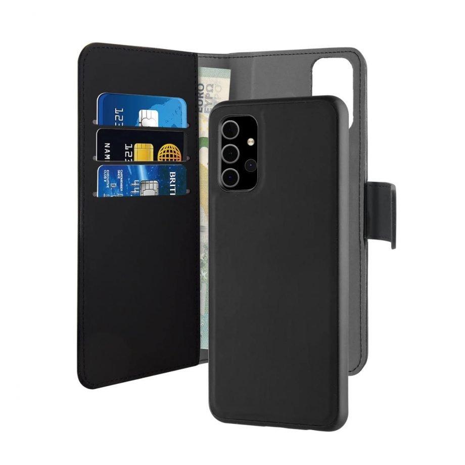 Puro Custodia Wallet Detachable per Samsung Galaxy A32
