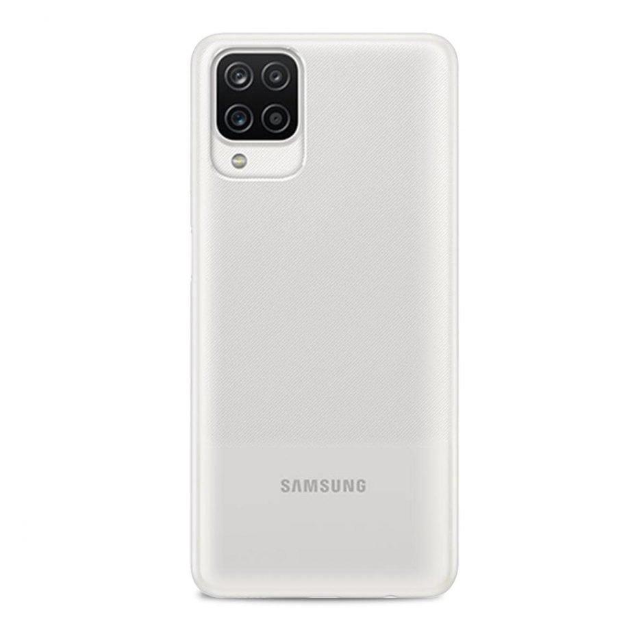 Cover e Custodie per Samsung Galaxy A12 5G: cover trasparente 03 Nude