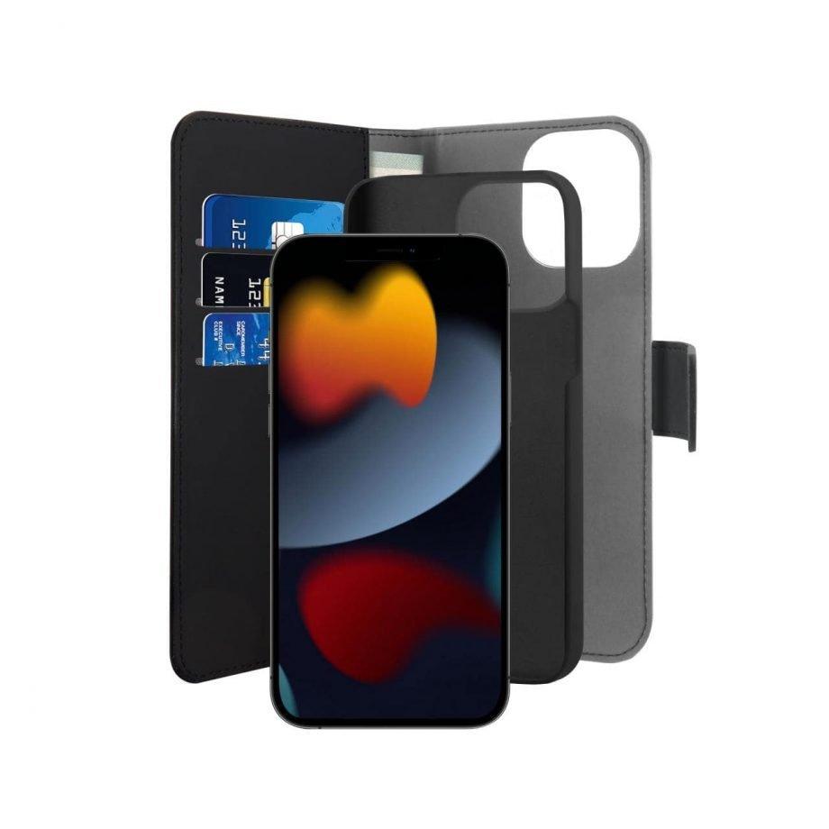 Coque 2 en 1 Wallet Détachable pour iPhone 13 Pro Max