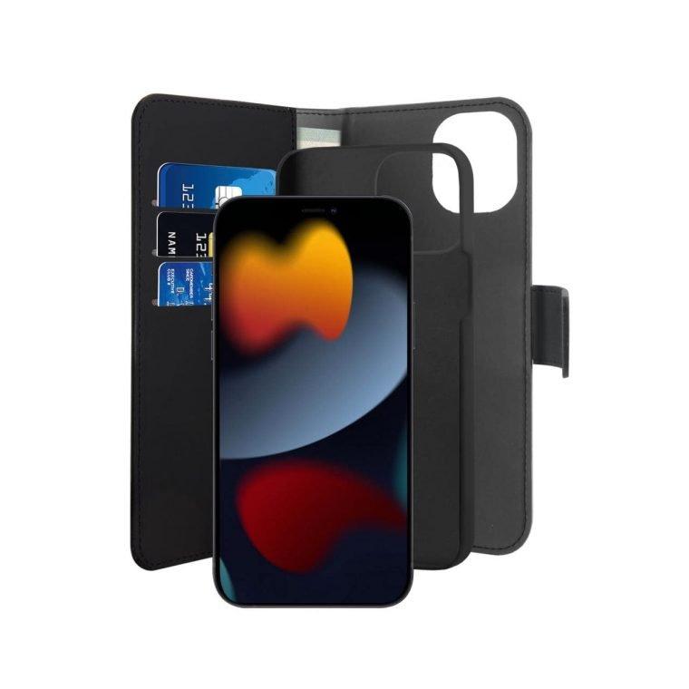 Custodia Wallet Detachable 2 in 1 per iPhone 13