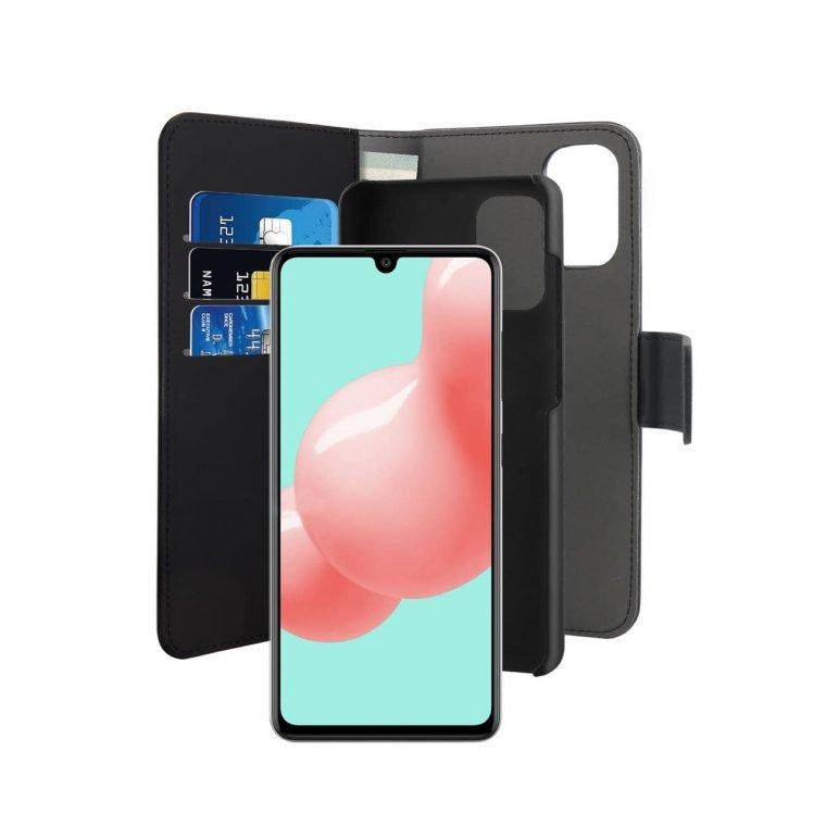 Custodia Wallet Detachable per Samsung Galaxy A41