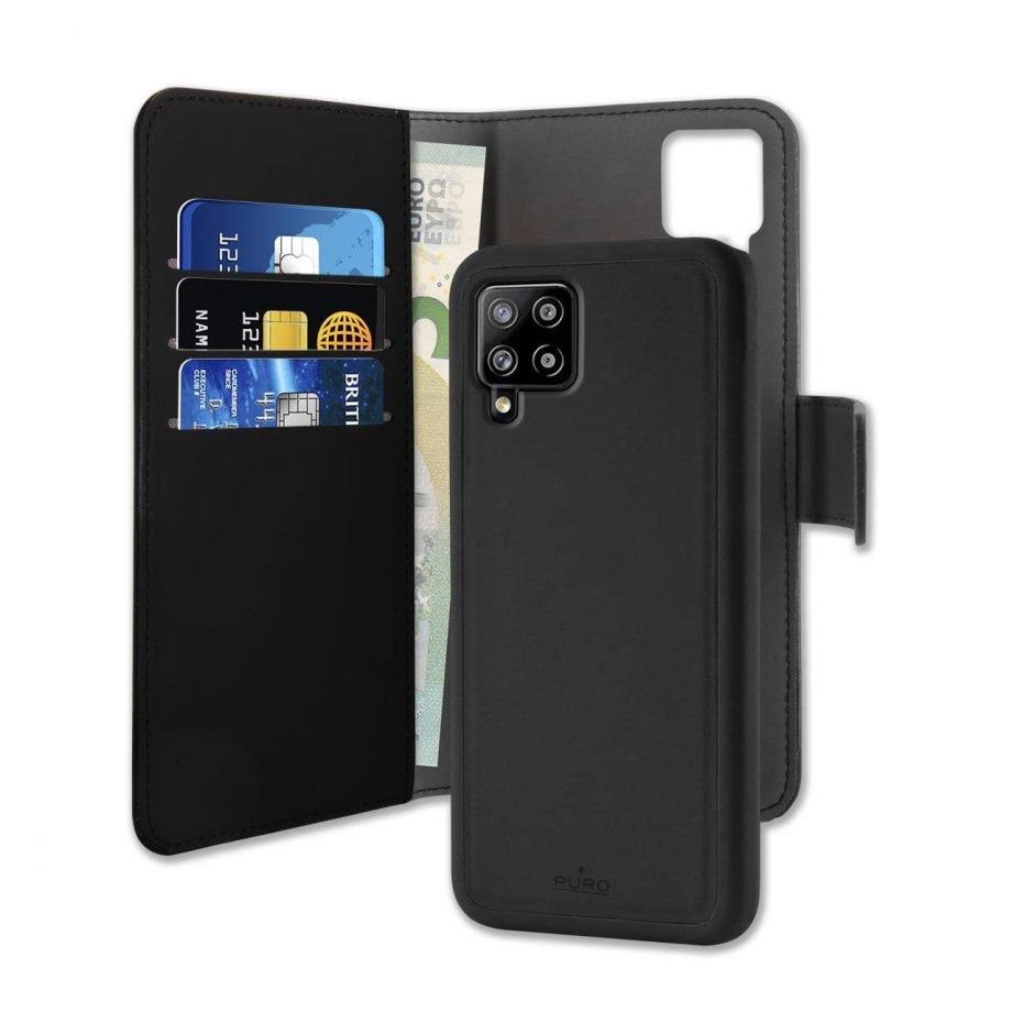 Custodia Wallet Detachable per Samsung Galaxy A42 5G