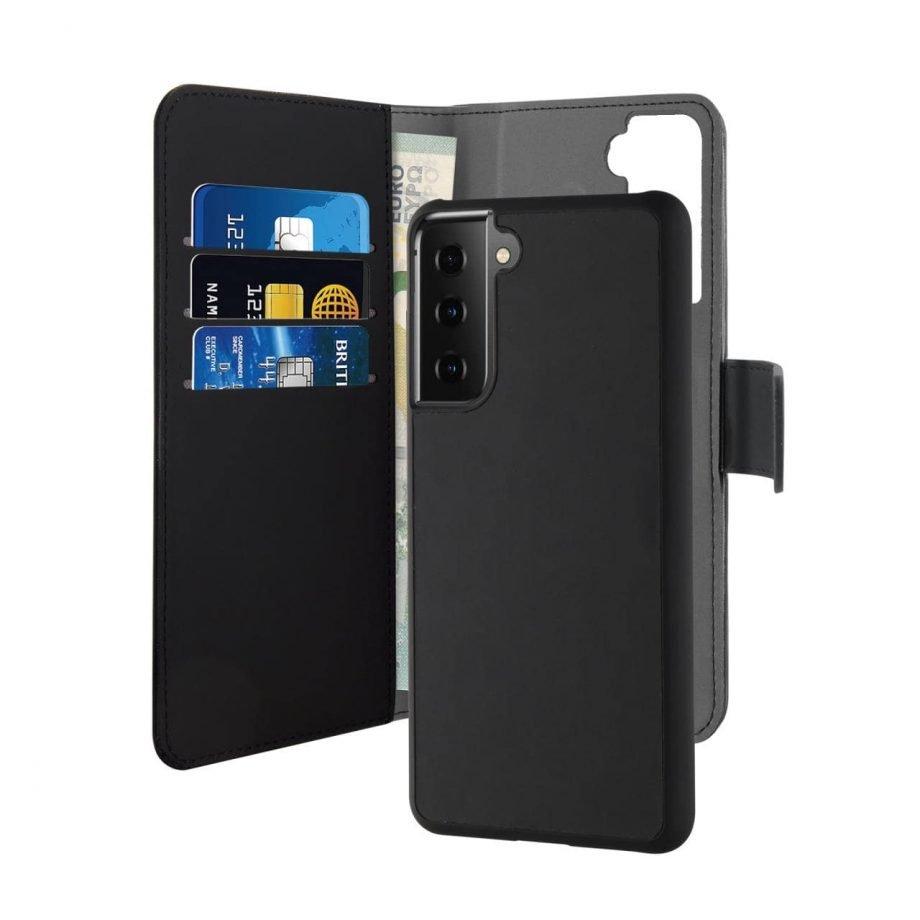 Custodia Wallet Detachable per Samsung Galaxy S21+