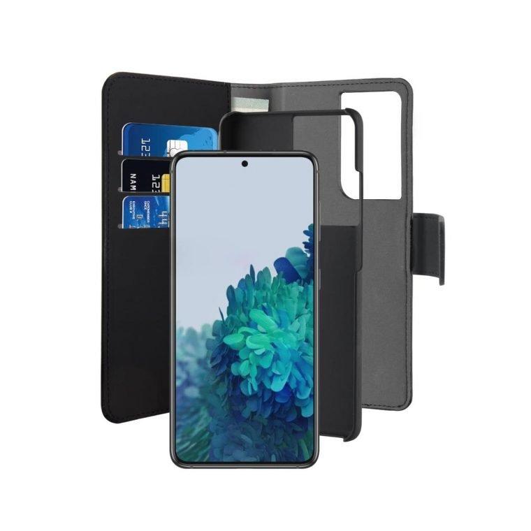 Custodia Wallet Detachable per Samsung Galaxy S21 Ultra