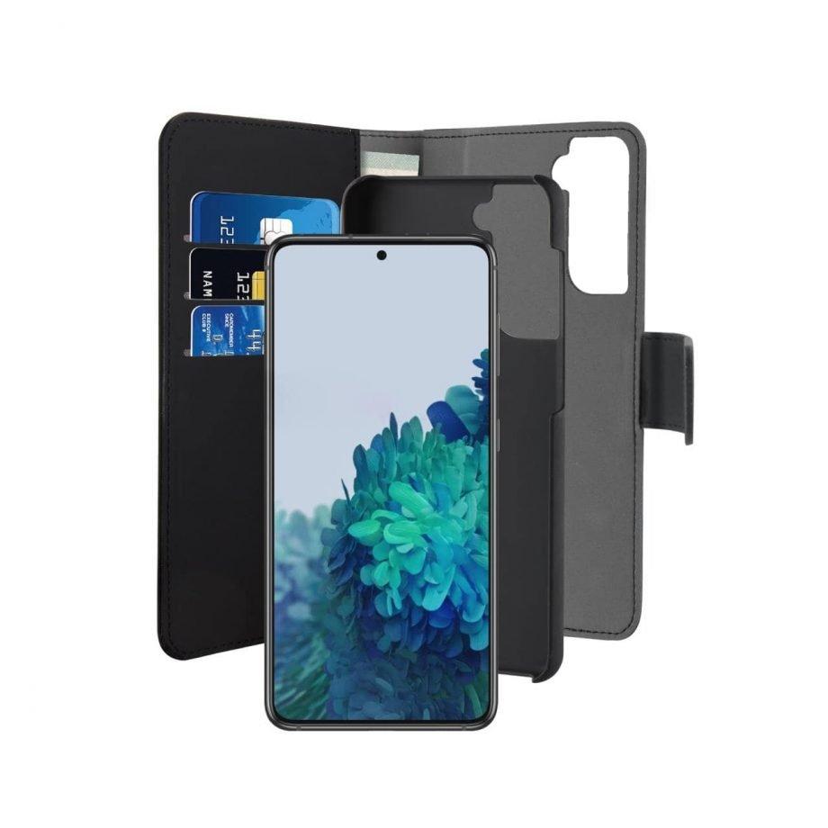 Custodia Wallet Detachable per Samsung Galaxy S21