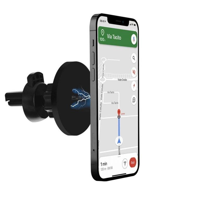 Supporto Magnetico MagSafe 360° da Auto ideale per iPhone 12 e iPhone 13