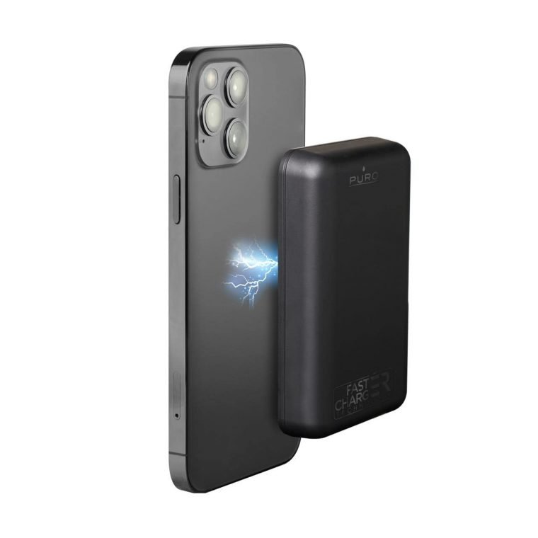 """Power Bank Wireless Universale Compatto """"Power Mag"""" 5000 mAh ideale per iPhone 12 e iPhone 13"""